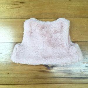 Gymboree Jackets & Coats - NWT Gymboree Baby Faux Fur Plush Vest